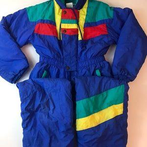 Vintage snowsuit